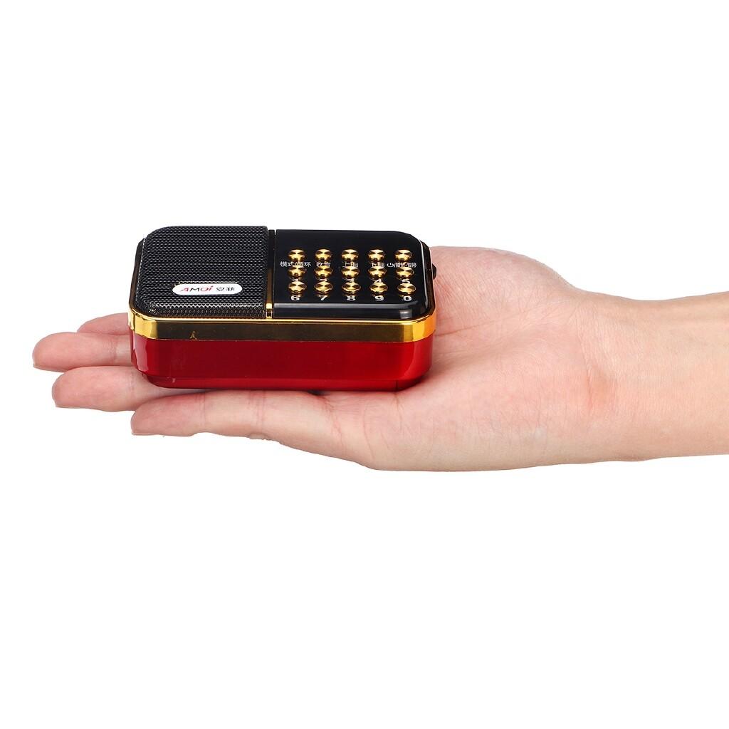 Radios - PORTABLE LCD Digital Radio Receiver FM/WMA/OGG/APE/FLAC/WAV MP3 Player Speaker - Audio