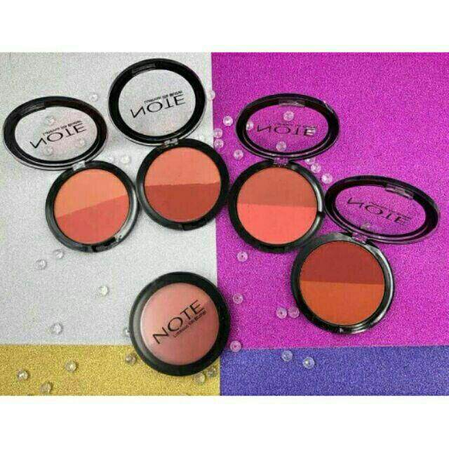 FREE GIFTNote Blusher Double Color