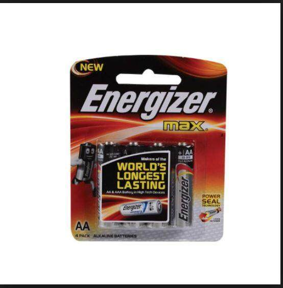 Energizer Max Powerseal Technology AA 4s