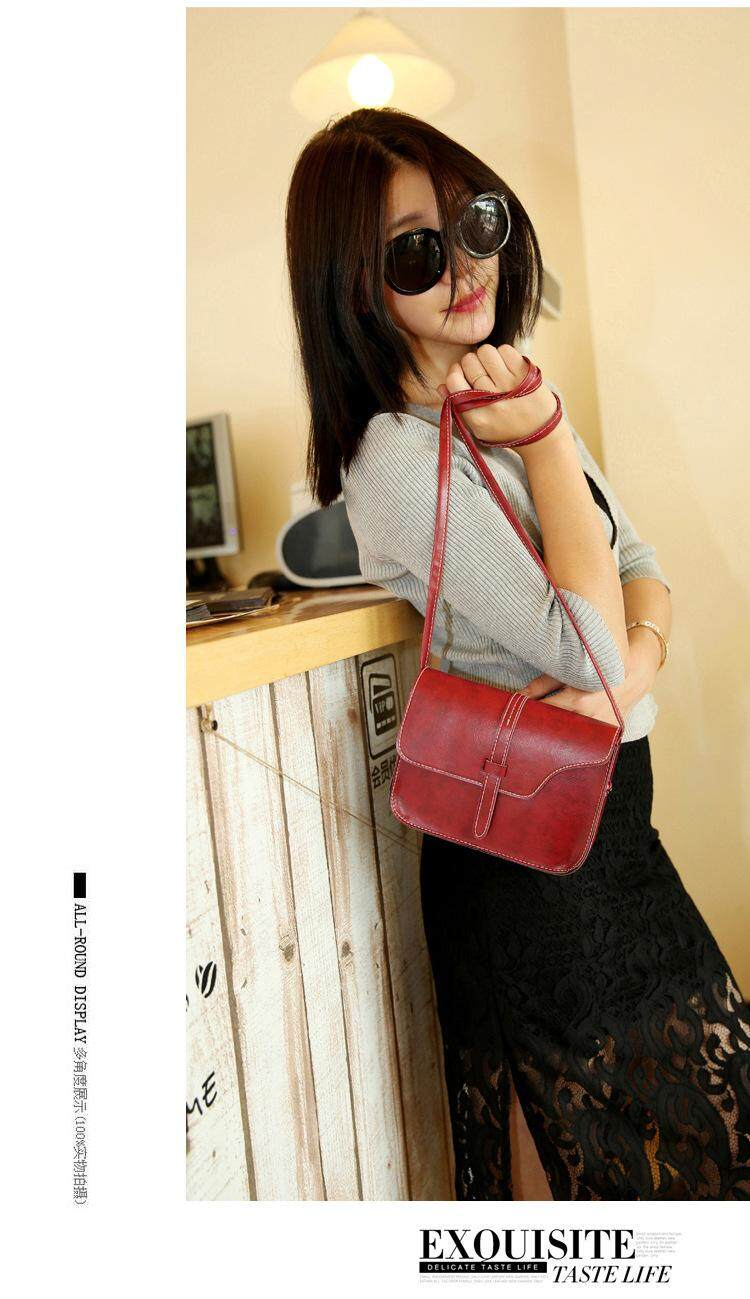 Bolster Store Ladies Women Retro Style Korea Sling Cross body Bag