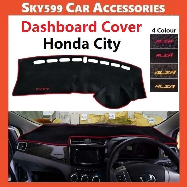 Honda City 2003-2020 Dashboard Cover Anti Slip Thick Dashboard Mat High Quality