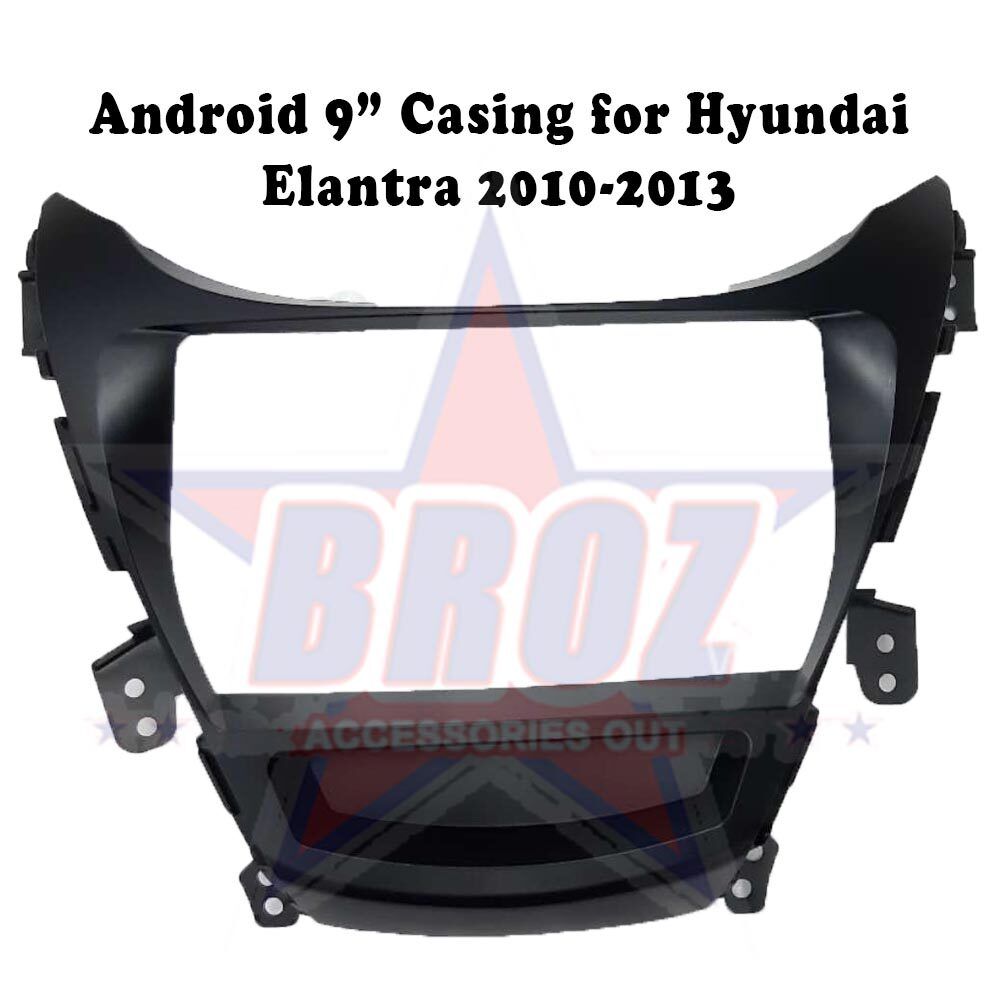 9 inches Car Android Player Casing for Elantra 2010-2013