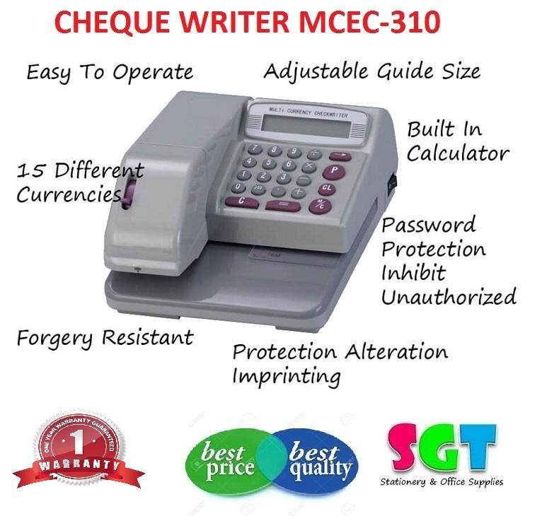 Cheque writter MCEC-310