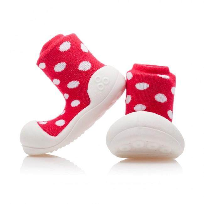 ATTIPAS POLKA DOT RED XL