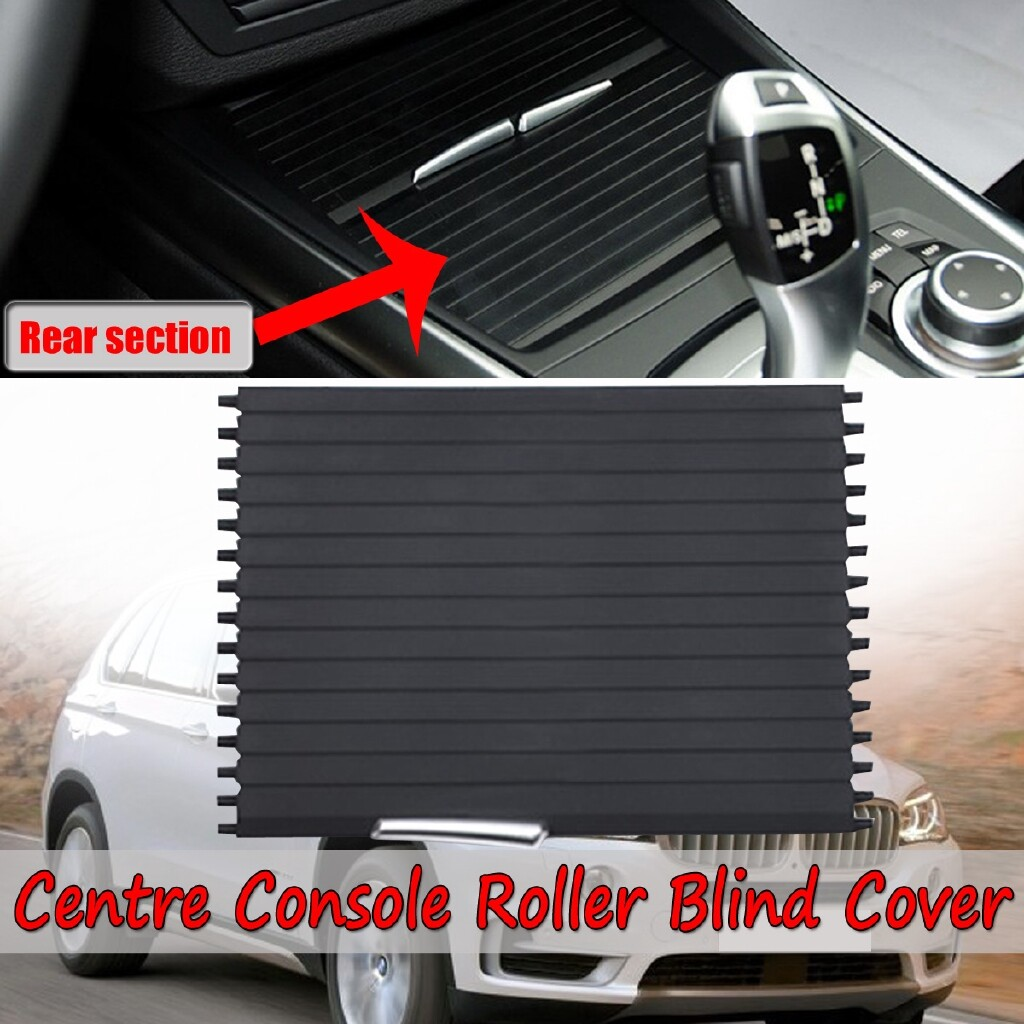 Automotive Tools & Equipment - Front Center Console Roller Blind Cover - Rear Part For BMW X5 X6 E70 E71 07-14 - Car Replacement Parts