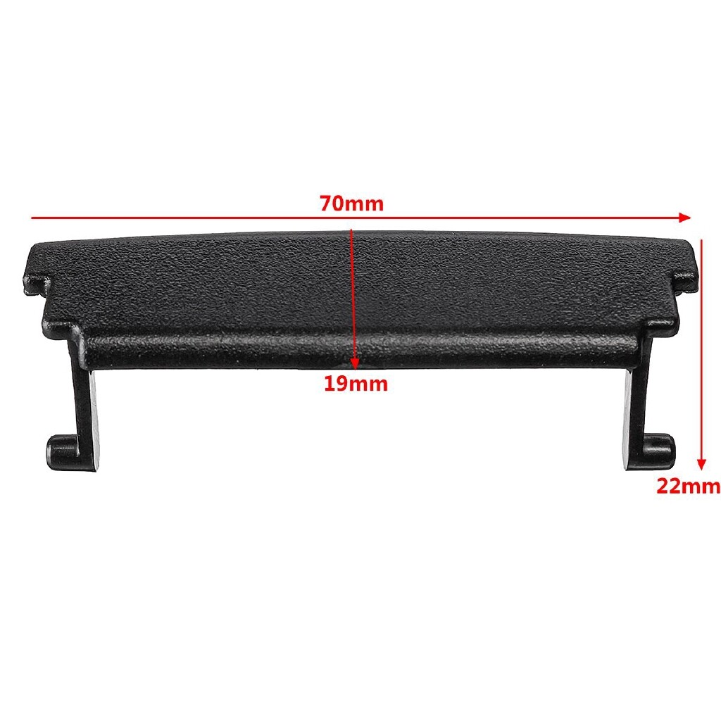 Automotive Tools & Equipment - Armrest Center Console Cover Lid Latch Clip Plastic Black For Audi A3 2003-2012 - Car Replacement Parts