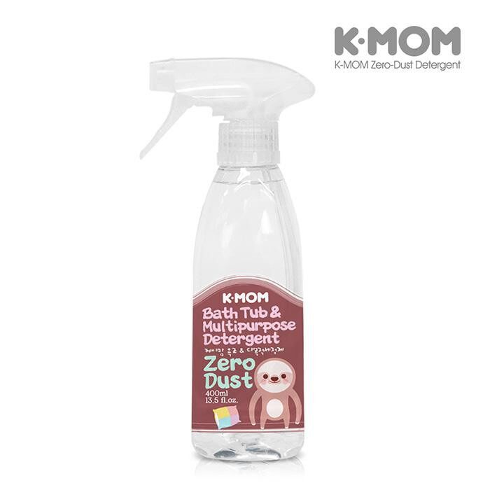 K-Mom Zero Dust Bath Tub & Multipurpose Detergent 400ml (Fruity Floral)