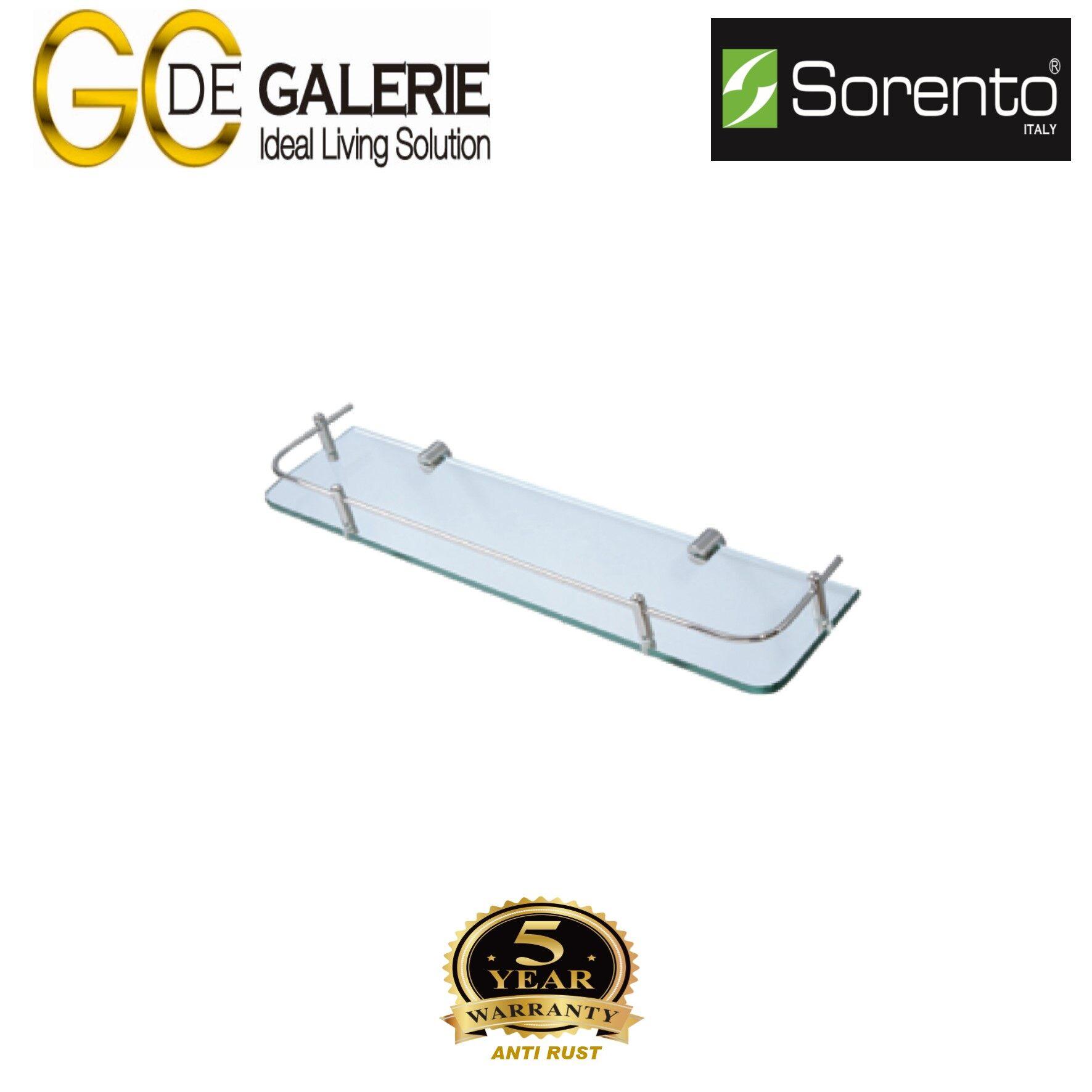 Sorento SRT2223C Bathroom/ Toilet Glass Shelf