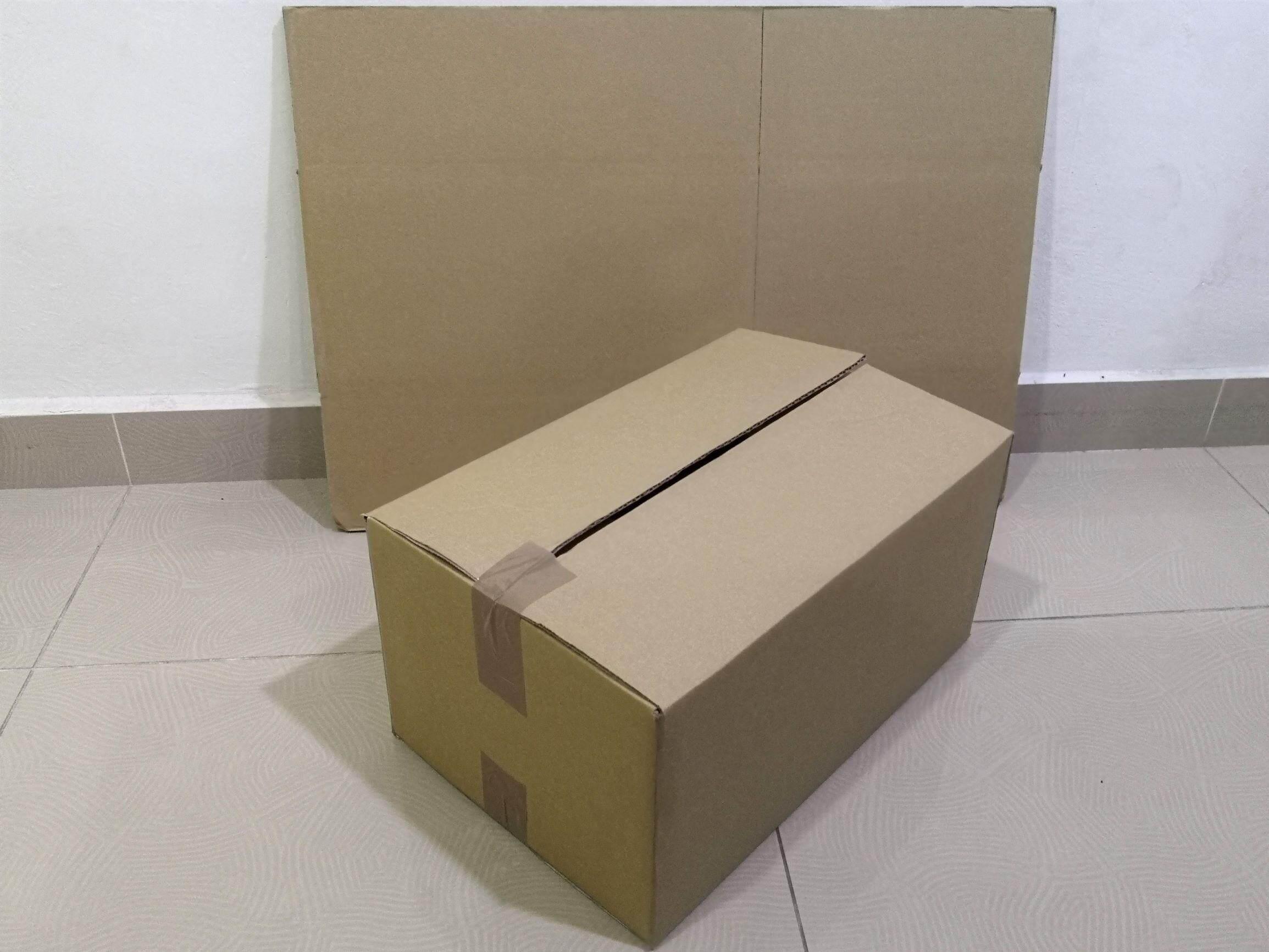 12pcs Plain Carton Boxes (L430 X W280 X H210mm)