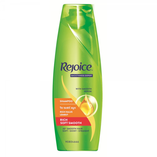 Rejoice Rich Soft Smooth Hair Shampoo 340ml