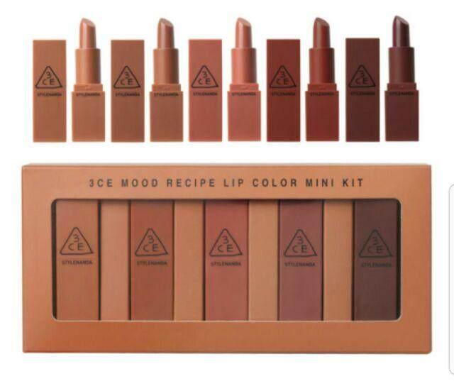 FREE GIFT3CE 5in1 minis matte lipstik lipstick