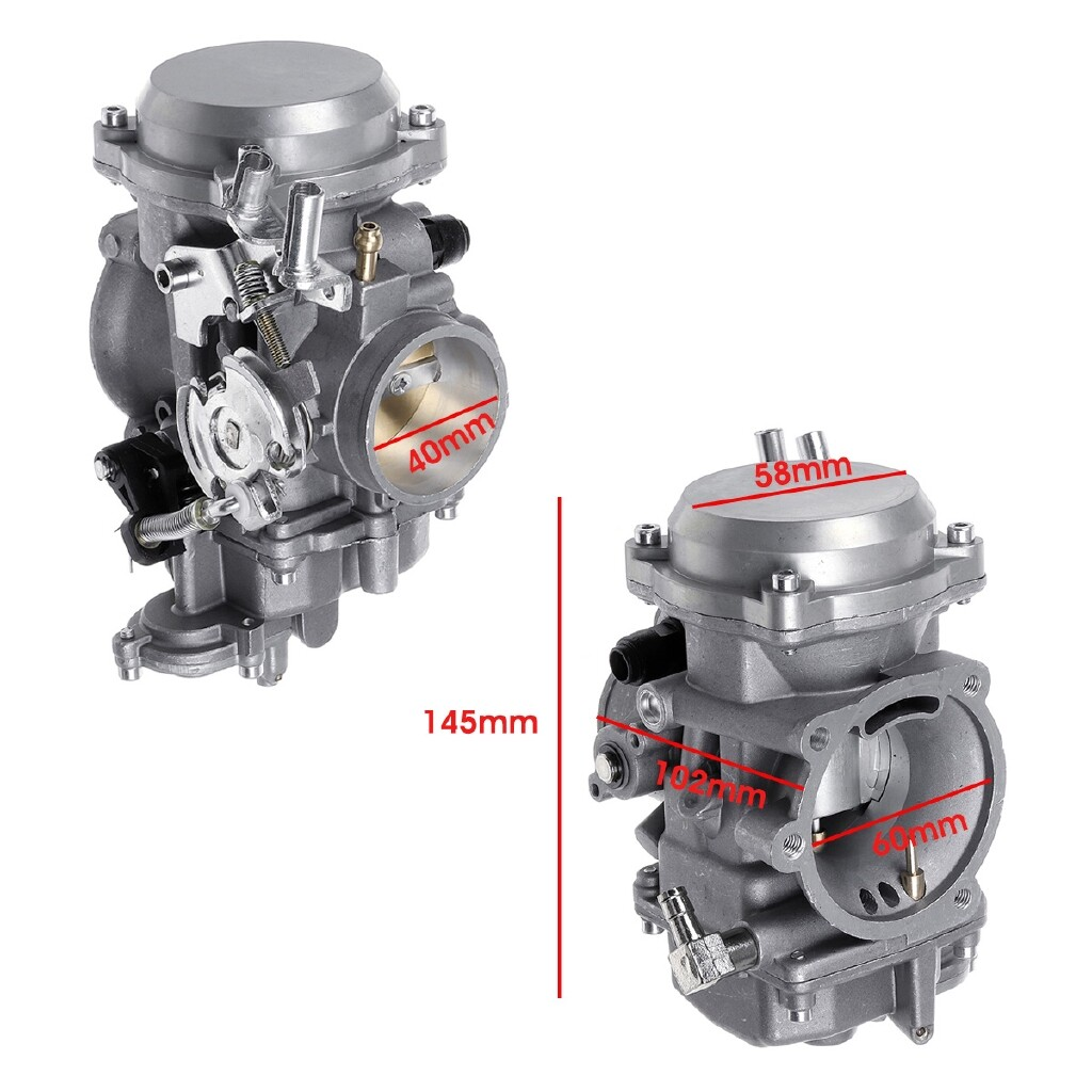 Engine Parts - 40mm Carb Carburetor For Harley Davidson Softail Dyna & FXR Touring Sportster - Car Replacement