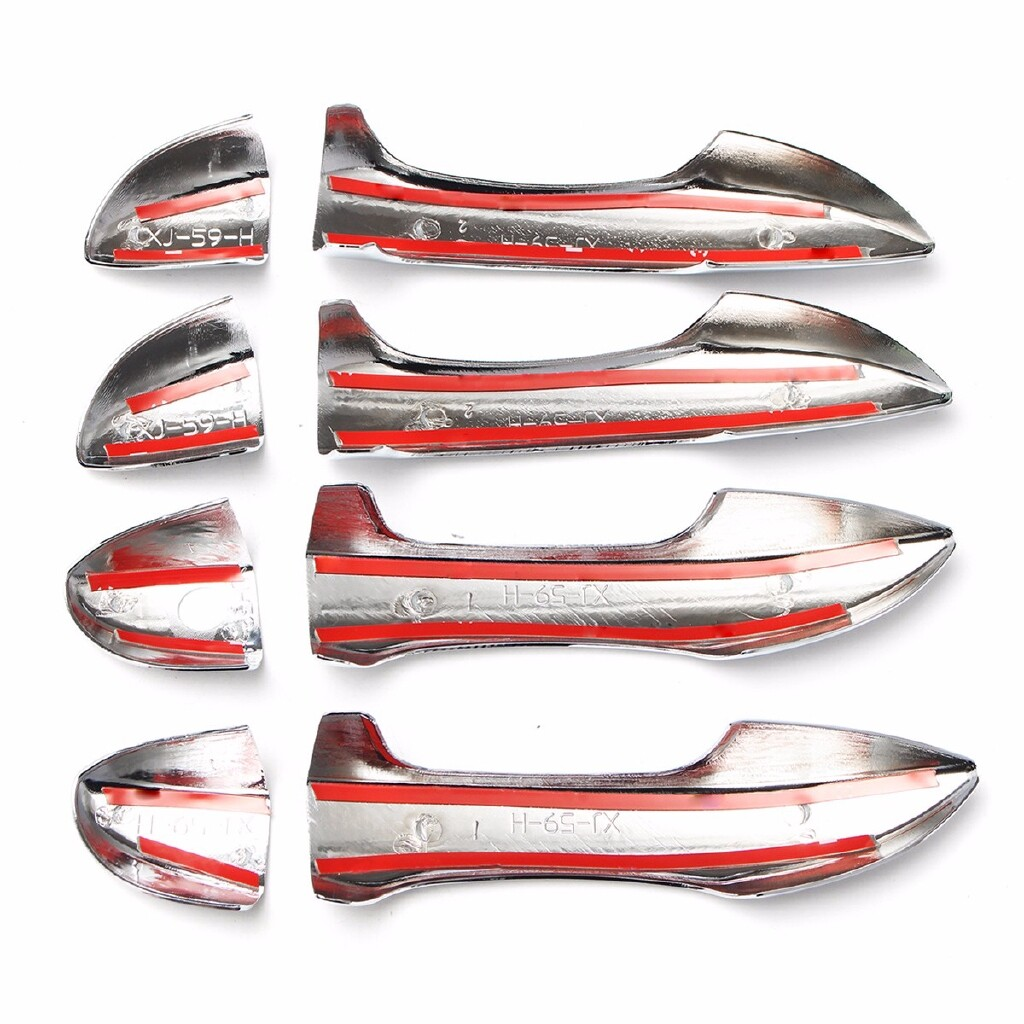Moto Spare Parts - Car ABS Chrome Side Door Handle Catch Cap Covers for TOYOTA Corolla 2014 - 2016 - Motorcycles, & Accessories