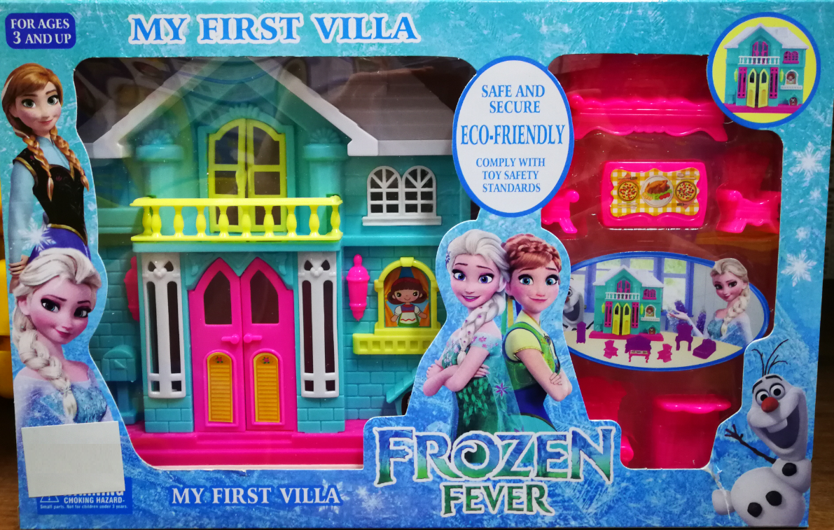 Frozen Villa Dream House Toys Set for girls