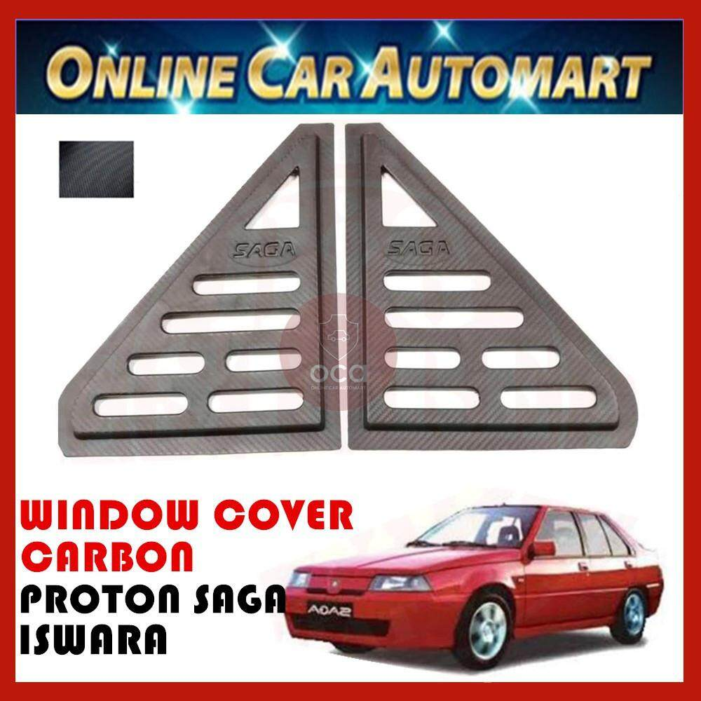 Rear Side Window Cover for Proton Saga Iswara 1985-2010 2 Pcs