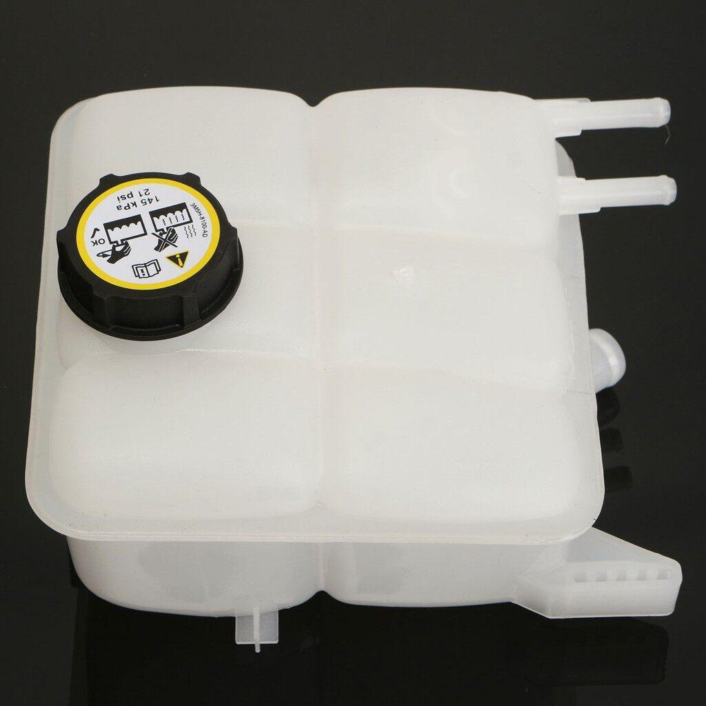 Coolants - Expansion Coolant Header Tank Bottle Resevoir + Pressure Cap For Mazda 04-12 3 - Car Oils & Fluids