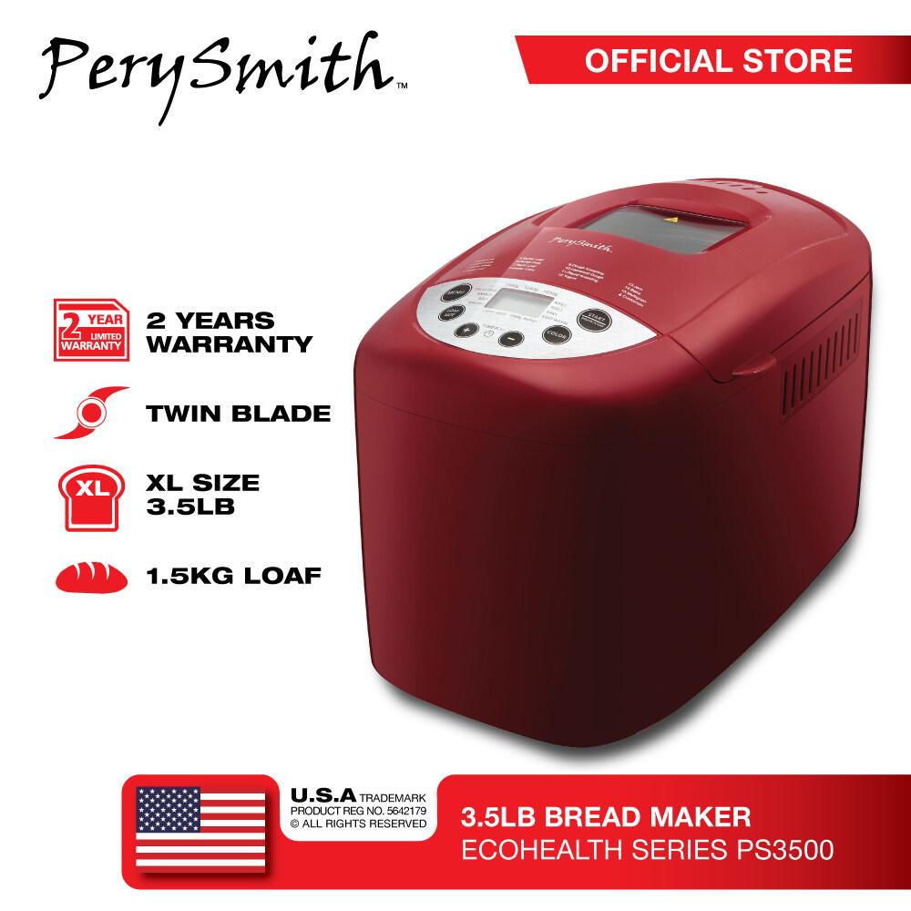 PerySmith 3.5LB Bread Maker [XL Size] Ecohealth Series PS3500PS3500