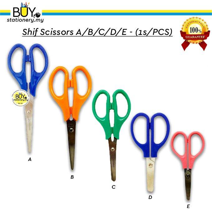 Shif Scissors A/B/C/D/E - (1s/PCS)