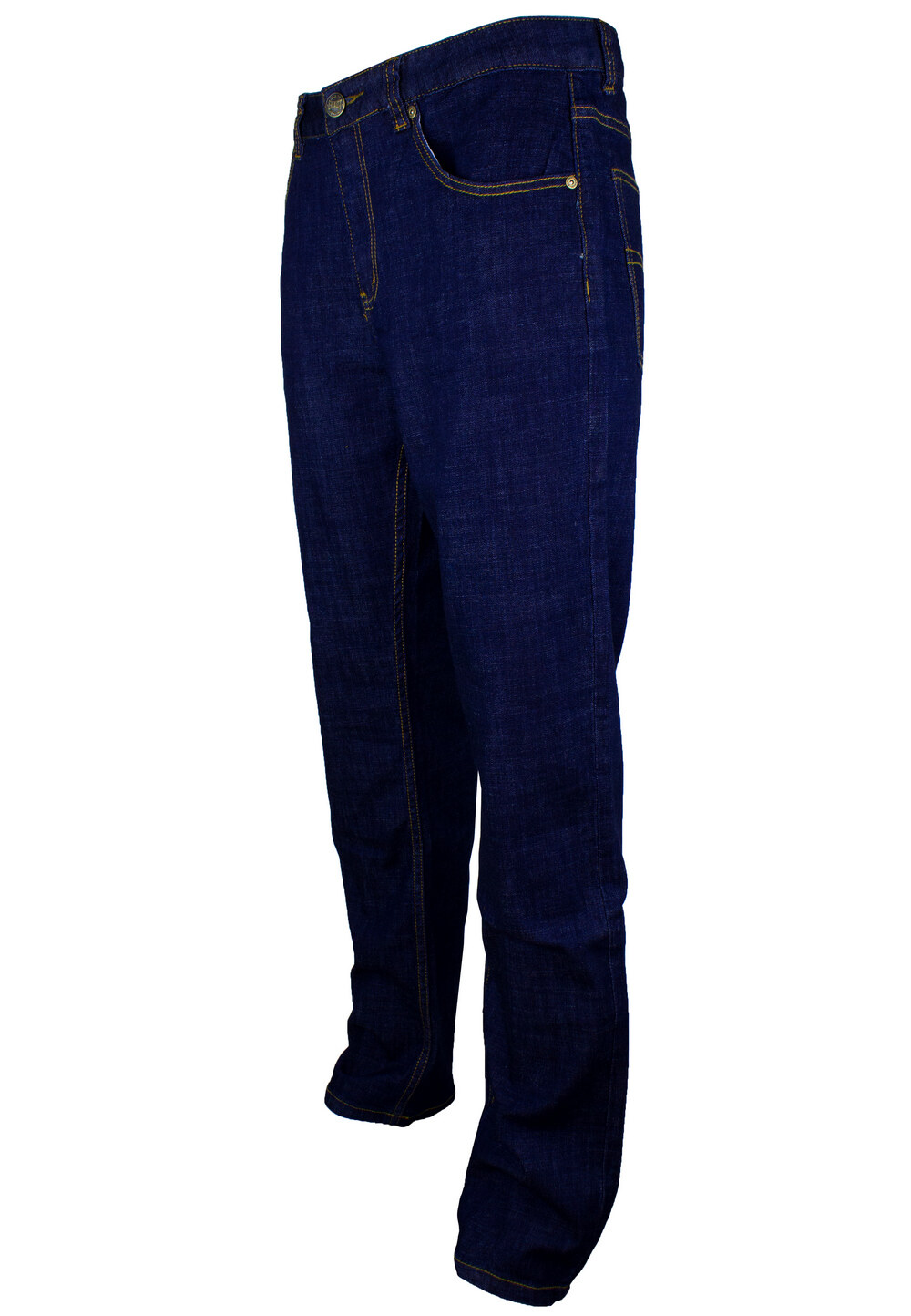 Exhaust Stretch Straight Cut Denim Long Pant 912