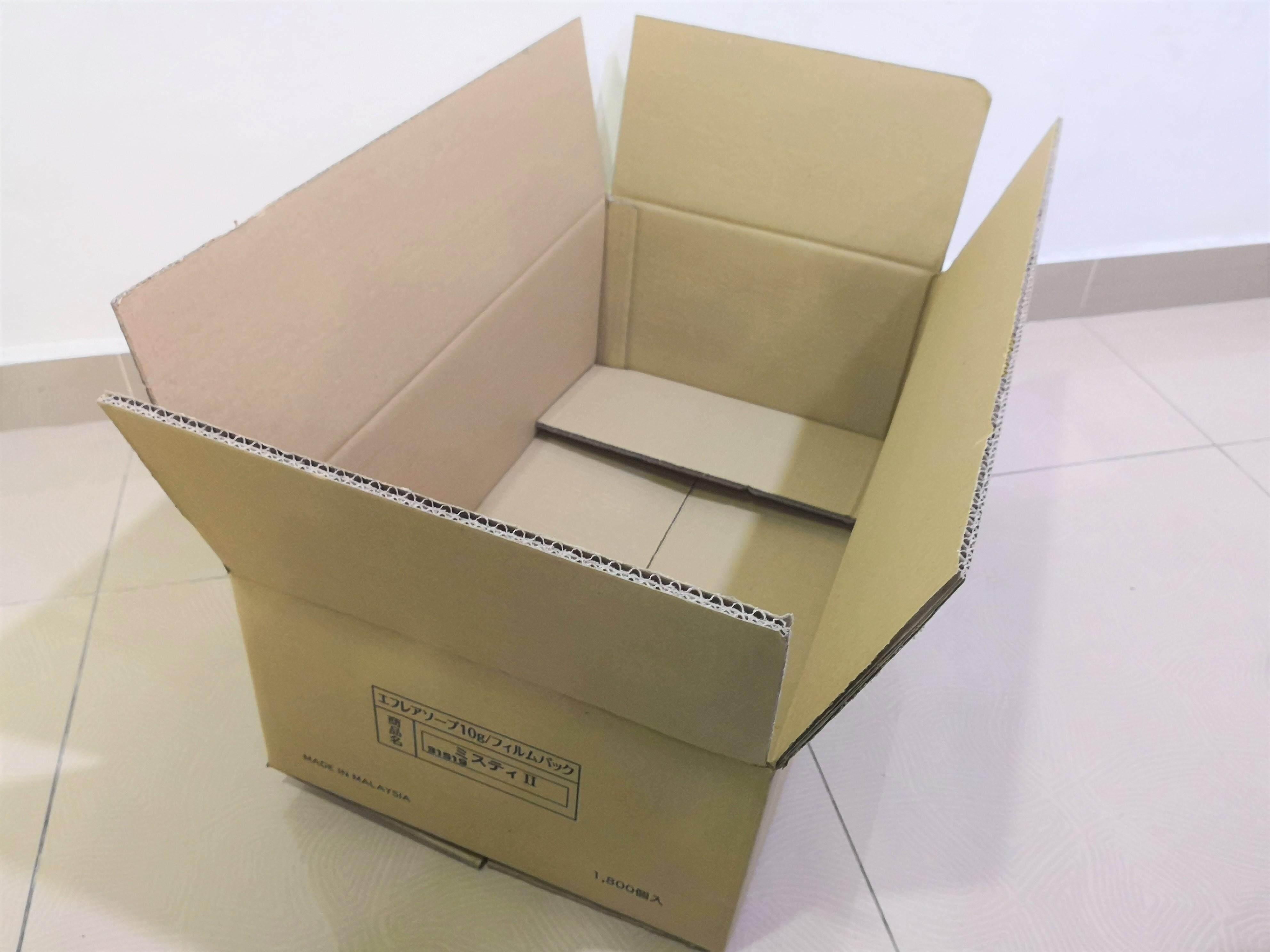 6pcs Printed Carton Boxes (L637 X W360 X H216mm)