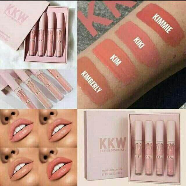 FREE GIFTLiquid Matte Lipstick Set 4 Pcs lipstick