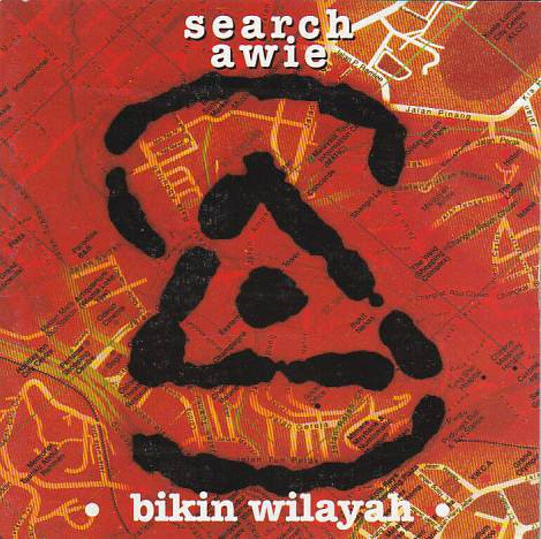 Search & Awie (Wings) Bikin Wilayah CD Lagu Rock Melayu Original New And Sealed