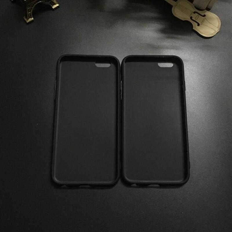 For iPhone 5 6 7 X XR XS Max ULTRA Thin Black Soft TPU Silicone Back Case Cover - FOR IPHONE 5 / FOR IPHONE 6 / FOR IPHONE 6 PLUS / FOR IPHONE 7 / FOR IPHONE 7 PLUS / FOR IPHONE X / FOR IPHONE XR / FOR IPHONE XS MAX