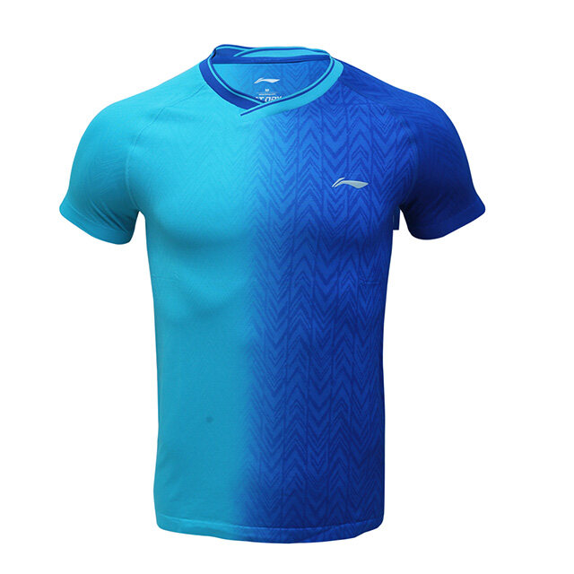 Li-Ning Autumn 19 Men's Badminton Jersey - Blue AAYP283-5