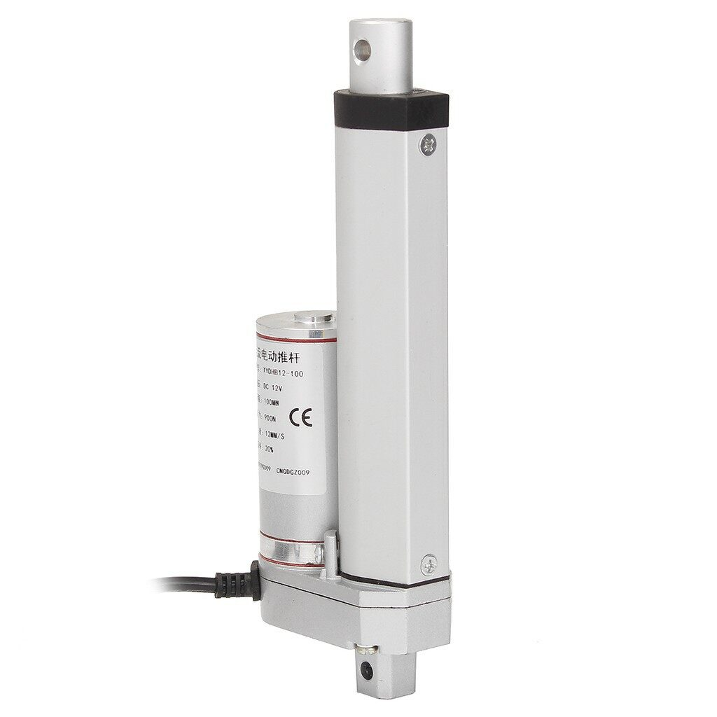 Cool Gadgets - 12V 900N 100mm Linear Actuator Motor Adjust Electric Industry - Mobile & Accessories