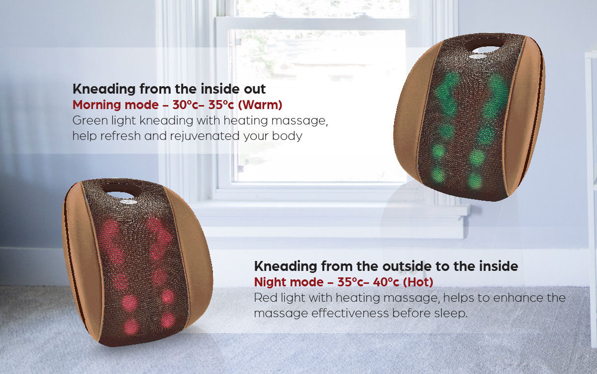 [Wednesday Deal] GINTELL G-Resto Massage Cushion | FREE Shipping