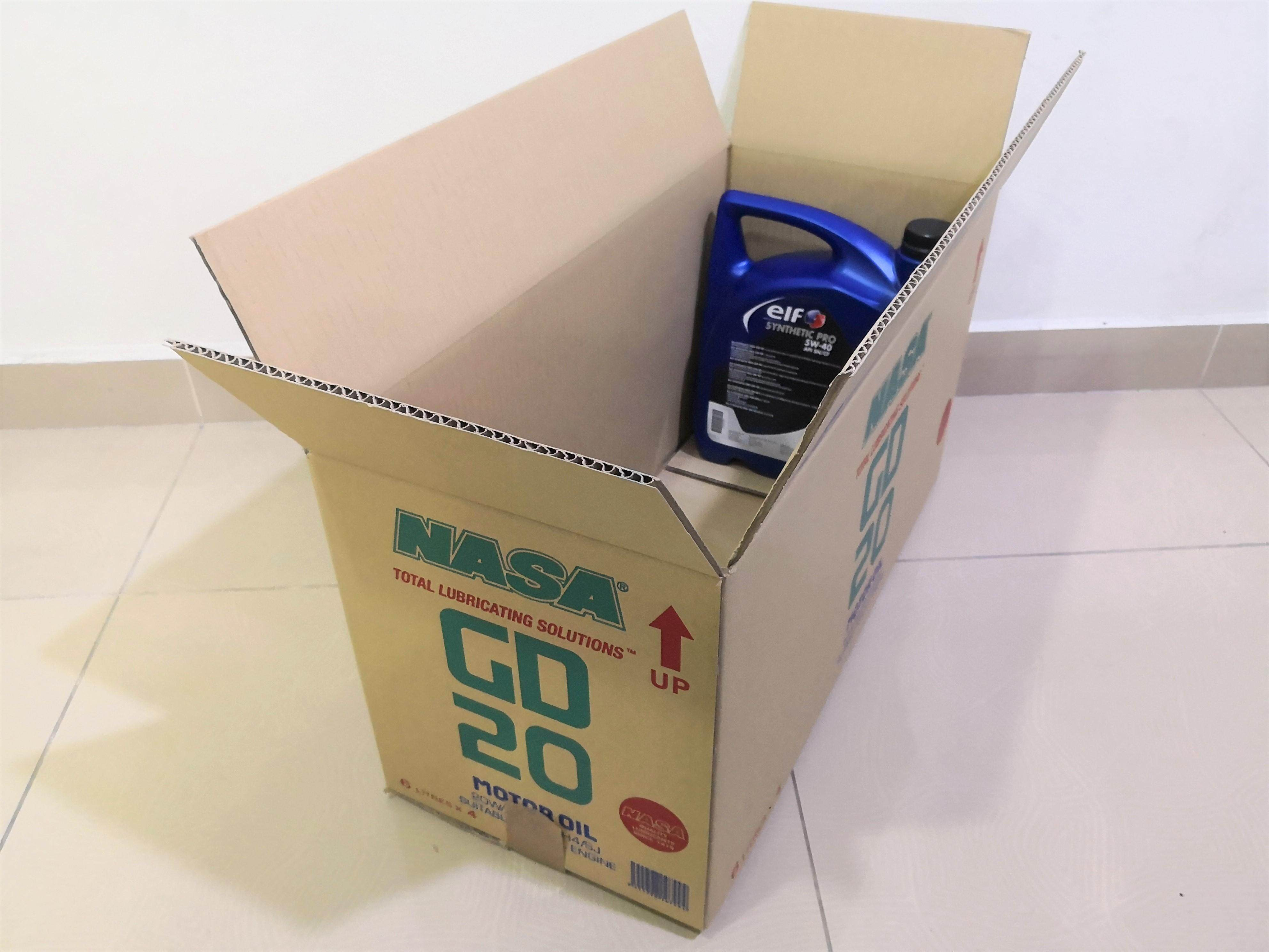 5pcs Printed Carton Boxes (L606 X W268 X H318mm)