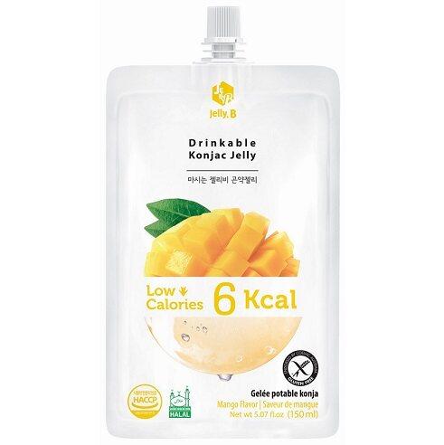 JELLY B Drinkable Konjac Jelly 150ml - Mango Flavor (Exp: 16/1/22)