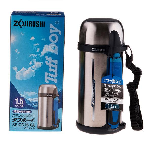 ZOJIRUSHI S/S BOTTLE WITH CUP - SF-CC-15-XA