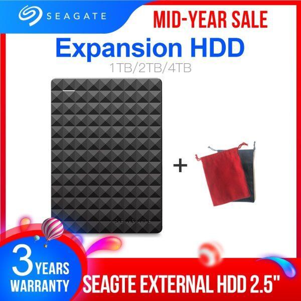 Bảng giá Seagate Mở Rộng HDD 1TB 2TB 4TB Ổ Cứng Gắn Ngoài Di Động Đĩa USB 3.0 HDD 2.5 Cho Máy Tính Để Bàn Máy Tính Xách Tay MacBook PS4 Phong Vũ
