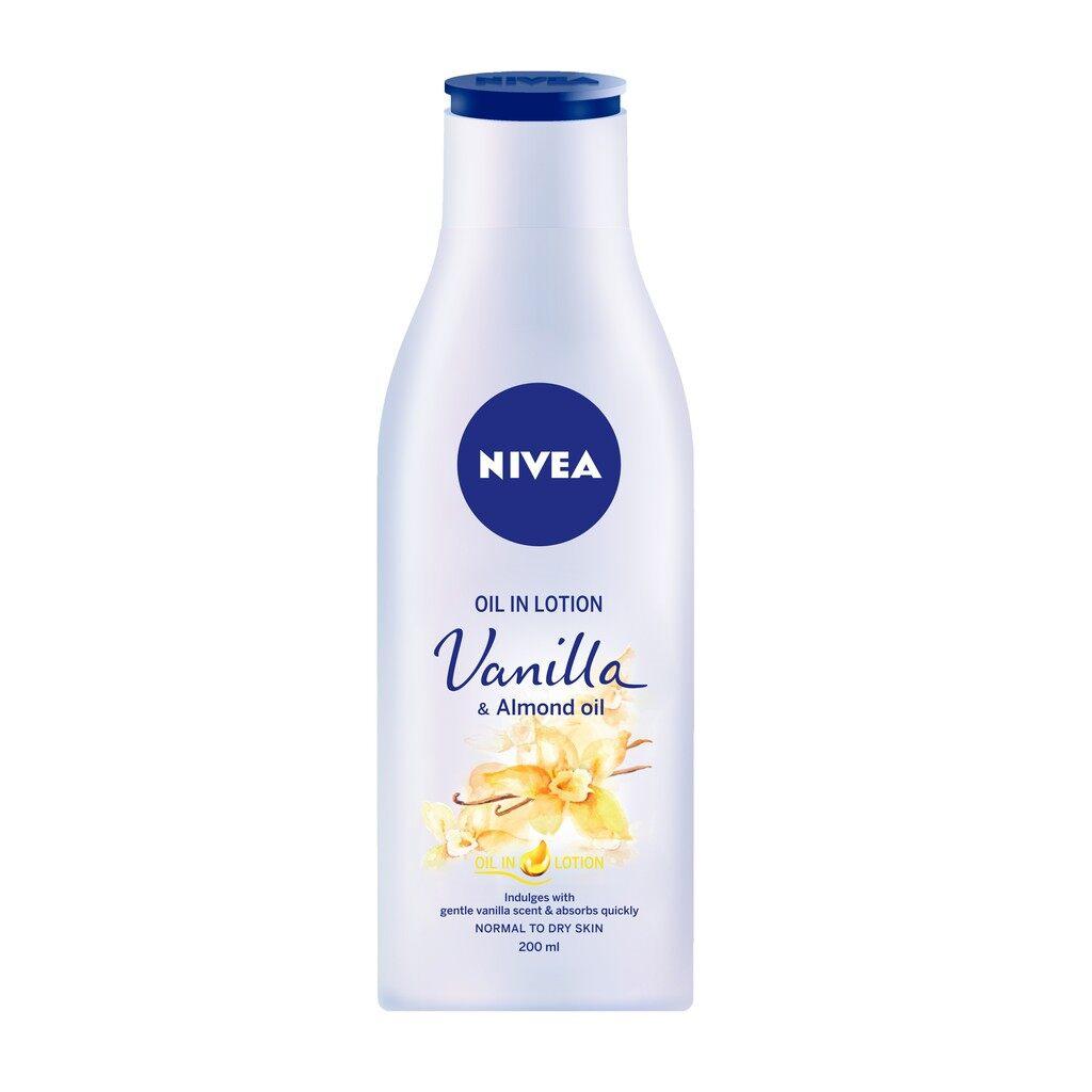 NIVEA Body Lotion 200ml - Vanilla & Almond Oil