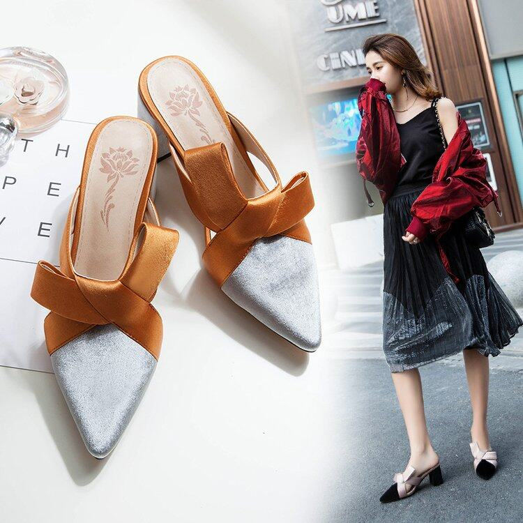 (PreOrder14Days )JYSFashionKoreanStyleWomen Sandal Collection 541 -7567 - EU:38