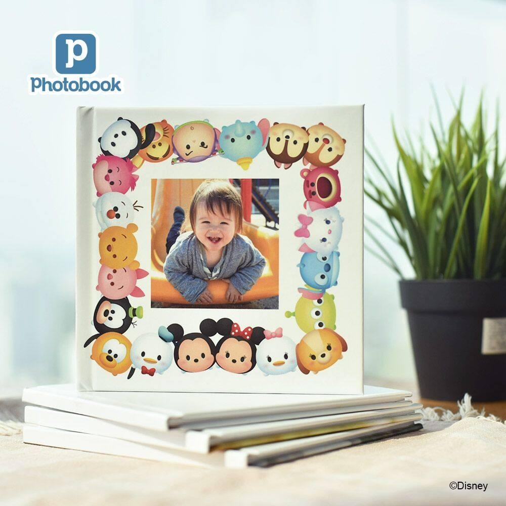 LazChoice [e-Voucher] [Photobook App Exclusive!] Photobook Personalised Disney 6 x 6 Kids Fun Book 20 pages