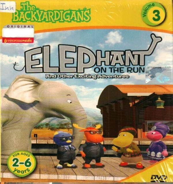 The Backyardigans Elephant On The Run And Other Exciting Adventures Vol.3 DVD