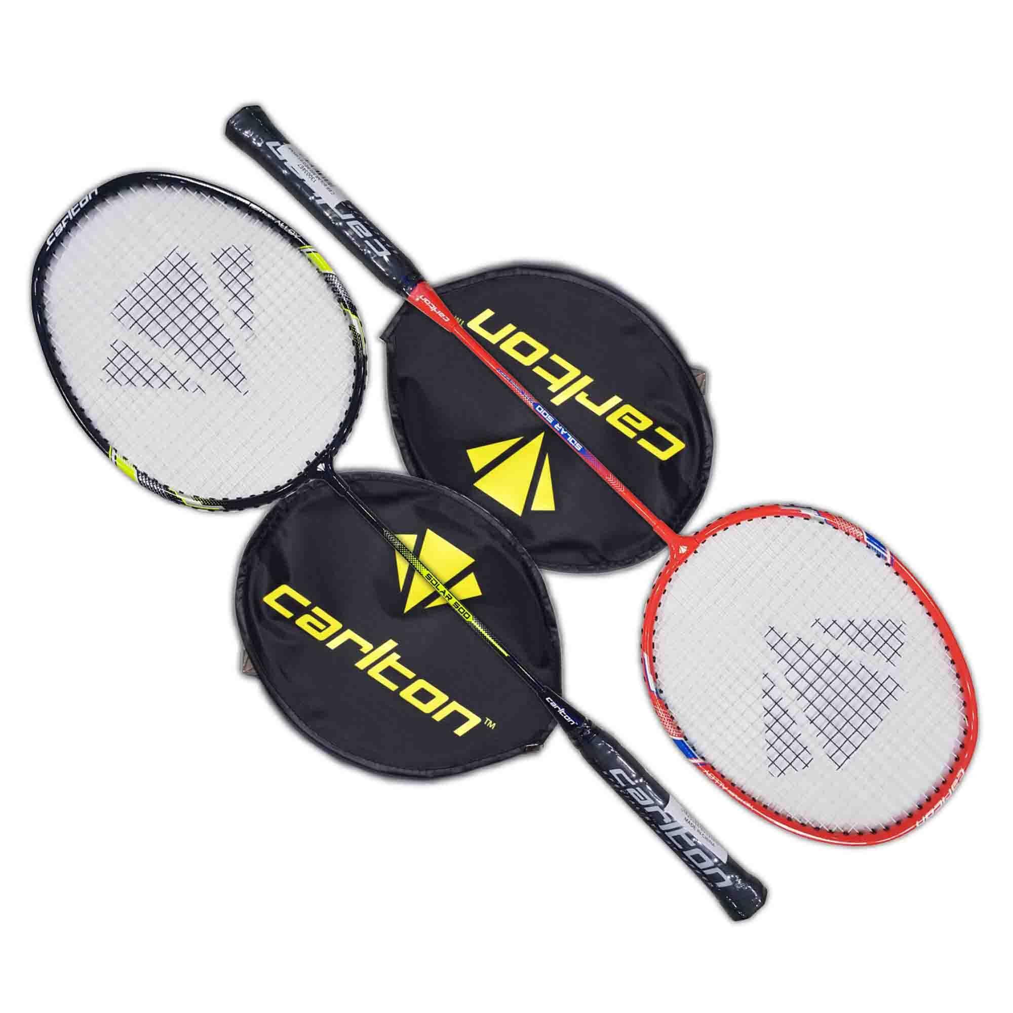Carlton Badminton Racket Solar 500 Set Of 2 Pcs