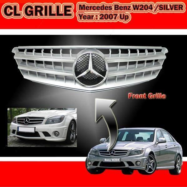 Mercedes BENZ W204 08-09 CL Silver Sport Grille