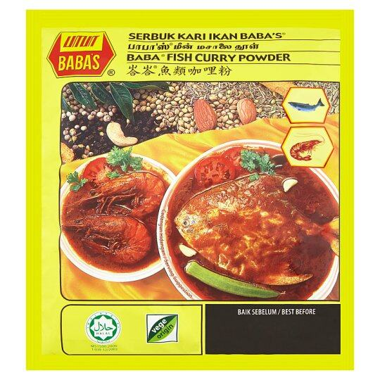 Babas Fish Curry 250g
