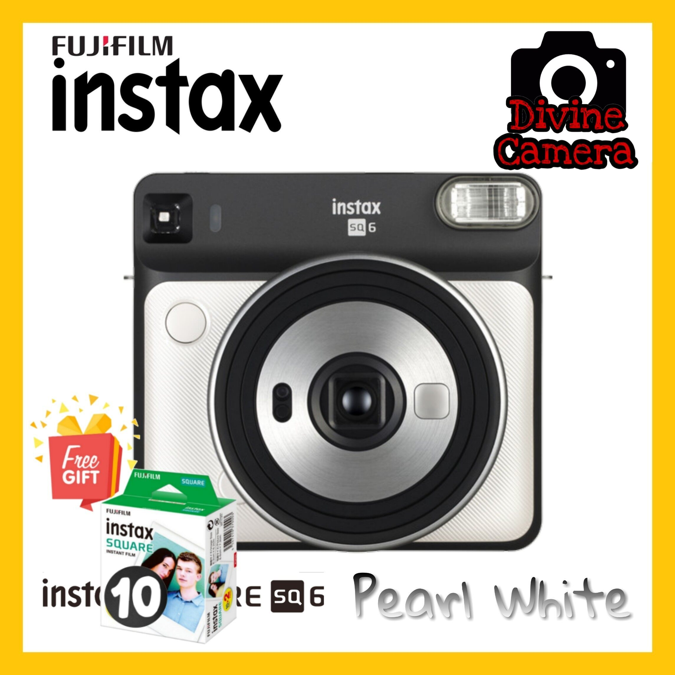 FUJIFILM INSTAX SQUARE SQ6 Instant Film Camera Special Package