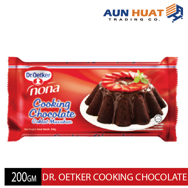 DR OETKER NONA COOKING CHOCOLATE 200GM