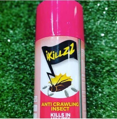 ikillzz Spray Pembunuh Lipas anti Crawling Insects untuk Rumah dan Kereta