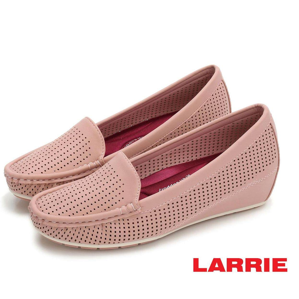 LARRIE Women Low Basic Loafer Wedges - L51901-WS01SV