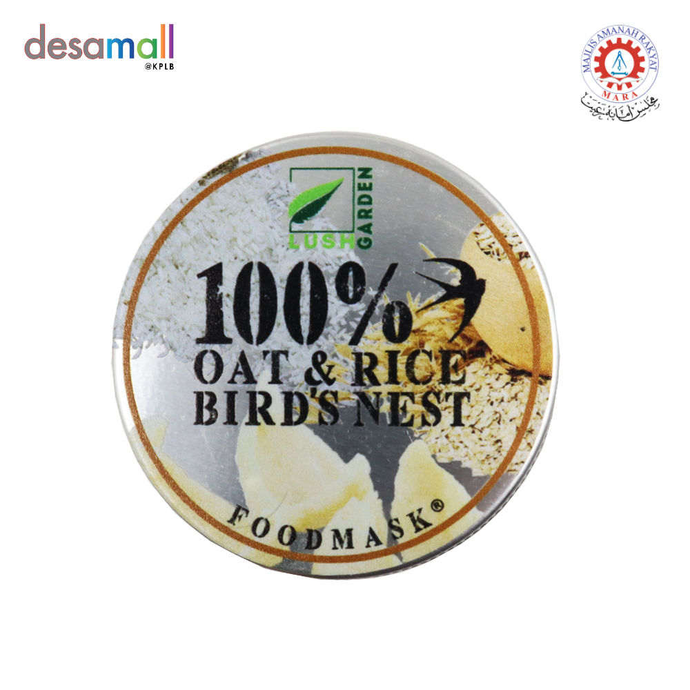 KULIT KULTURE Foodmask 100% Oat & Rice + Bird\'s Nest (110g)