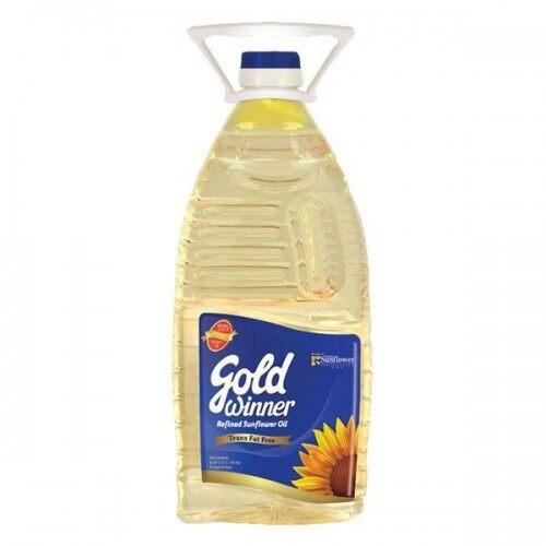 GOLD WINNER NATURAL SUNFLOWER OIL 2 LITER