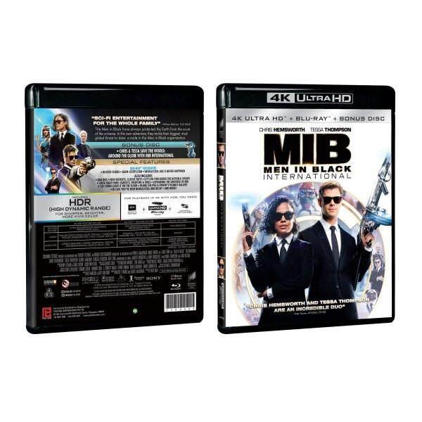 English Movie Men in Black International 4K Ultra HD + Blu-ray