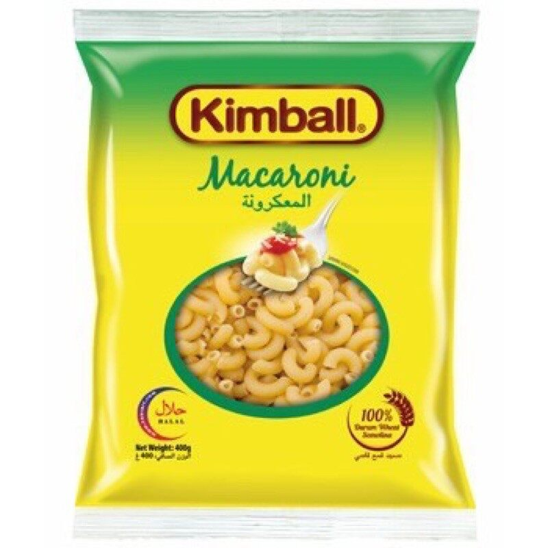 KIMBALL MACARONI PASTA 400G