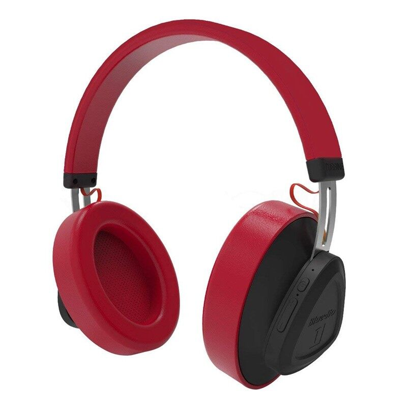 On-Ear Headphones - Bluedio TM WIRELESS BLUETOOTH Headphone Voice Control Stereo Head SETs with Mic - RED / BLACK / YELLOW